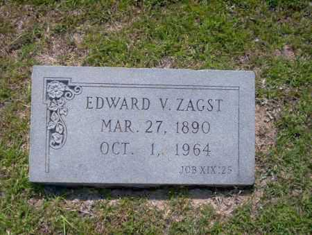 ZAGST, EDWARD V. - Union County, Arkansas | EDWARD V. ZAGST - Arkansas Gravestone Photos