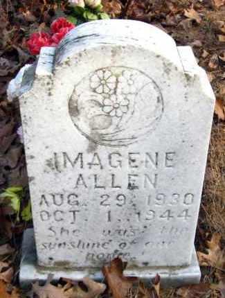 ALLEN, IMAGENE - Van Buren County, Arkansas | IMAGENE ALLEN - Arkansas Gravestone Photos
