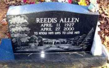 ALLEN, REEDIS - Van Buren County, Arkansas   REEDIS ALLEN - Arkansas Gravestone Photos