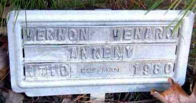 ANKENY, VERNON VENARD - Van Buren County, Arkansas | VERNON VENARD ANKENY - Arkansas Gravestone Photos