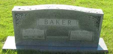 BAKER, FRED THOMAS - Van Buren County, Arkansas | FRED THOMAS BAKER - Arkansas Gravestone Photos