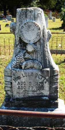 BETTS, LULA - Van Buren County, Arkansas | LULA BETTS - Arkansas Gravestone Photos