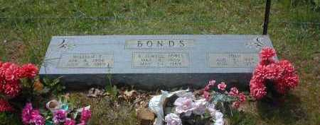 BONDS, WILLIAM F. - Van Buren County, Arkansas | WILLIAM F. BONDS - Arkansas Gravestone Photos