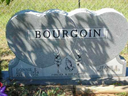 BOURGOIN, DONNIE E. - Van Buren County, Arkansas   DONNIE E. BOURGOIN - Arkansas Gravestone Photos