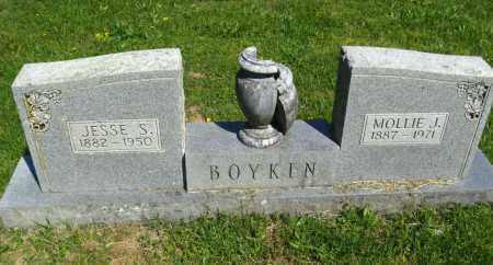 BOYKIN, JESSIE S - Van Buren County, Arkansas | JESSIE S BOYKIN - Arkansas Gravestone Photos