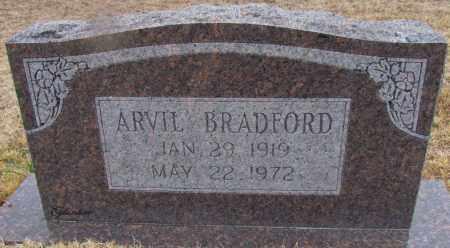 BRADFORD, ARVIL - Van Buren County, Arkansas   ARVIL BRADFORD - Arkansas Gravestone Photos