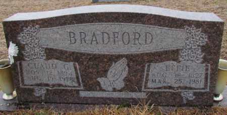 BRADFORD, CLAUD C - Van Buren County, Arkansas | CLAUD C BRADFORD - Arkansas Gravestone Photos