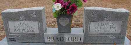 BRADFORD, CLONES - Van Buren County, Arkansas   CLONES BRADFORD - Arkansas Gravestone Photos