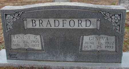 BRADFORD, ERNEST G - Van Buren County, Arkansas | ERNEST G BRADFORD - Arkansas Gravestone Photos