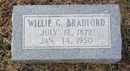 BRADFORD, WILLIE G - Van Buren County, Arkansas | WILLIE G BRADFORD - Arkansas Gravestone Photos
