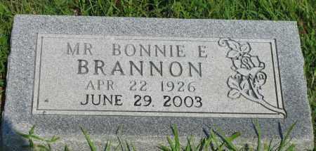 BRANNON, BONNIE E - Van Buren County, Arkansas   BONNIE E BRANNON - Arkansas Gravestone Photos