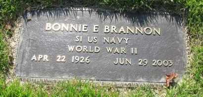 BRANNON (VETERAN WWII), BONNIE - Van Buren County, Arkansas   BONNIE BRANNON (VETERAN WWII) - Arkansas Gravestone Photos