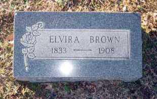 BROWN, ELVIRA - Van Buren County, Arkansas   ELVIRA BROWN - Arkansas Gravestone Photos