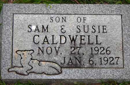 CALDWELL, INFANT SON - Van Buren County, Arkansas   INFANT SON CALDWELL - Arkansas Gravestone Photos