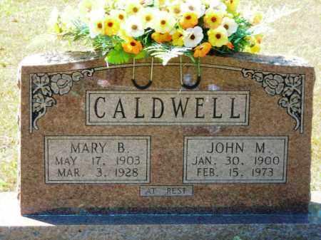 CALDWELL, MARY B. - Van Buren County, Arkansas | MARY B. CALDWELL - Arkansas Gravestone Photos