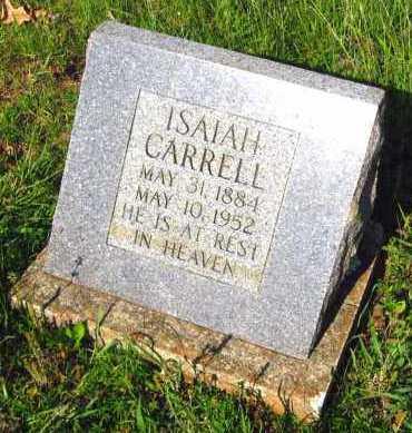 CARRELL, ISAIAH - Van Buren County, Arkansas | ISAIAH CARRELL - Arkansas Gravestone Photos
