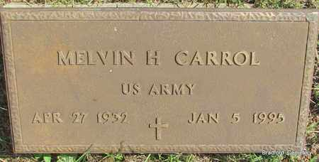 CARROL (VETERAN), MELVIN H - Van Buren County, Arkansas | MELVIN H CARROL (VETERAN) - Arkansas Gravestone Photos