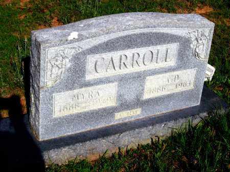 CARROLL, A D - Van Buren County, Arkansas | A D CARROLL - Arkansas Gravestone Photos