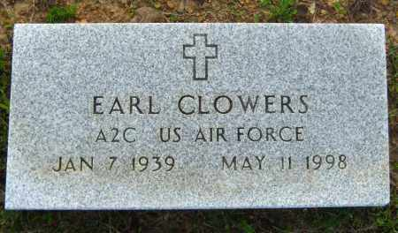 CLOWERS  (VETERAN), EARL - Van Buren County, Arkansas | EARL CLOWERS  (VETERAN) - Arkansas Gravestone Photos
