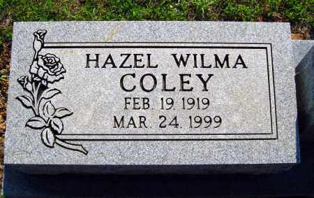 COLEY, HAZEL WILMA - Van Buren County, Arkansas | HAZEL WILMA COLEY - Arkansas Gravestone Photos