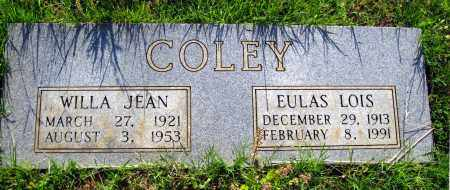 COLEY, EULAS LOIS - Van Buren County, Arkansas | EULAS LOIS COLEY - Arkansas Gravestone Photos