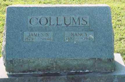 COLLUMS, JAMES SOLOMON - Van Buren County, Arkansas   JAMES SOLOMON COLLUMS - Arkansas Gravestone Photos