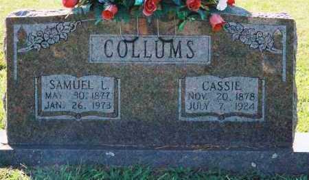 "COLLUMS, CHARLOTTE CATHERINE ""CASSIE"" - Van Buren County, Arkansas | CHARLOTTE CATHERINE ""CASSIE"" COLLUMS - Arkansas Gravestone Photos"