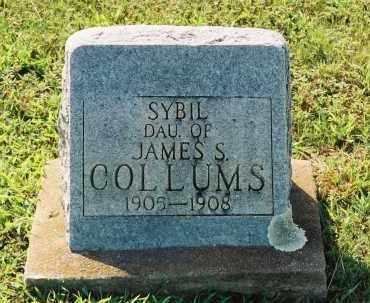 COLLUMS, SYBIL - Van Buren County, Arkansas | SYBIL COLLUMS - Arkansas Gravestone Photos