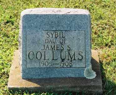 COLLUMS, SYBIL - Van Buren County, Arkansas | SYBIL COLLUMS - Arkansas Gravestone Photos
