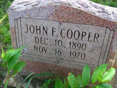 COOPER, JOHN F - Van Buren County, Arkansas | JOHN F COOPER - Arkansas Gravestone Photos