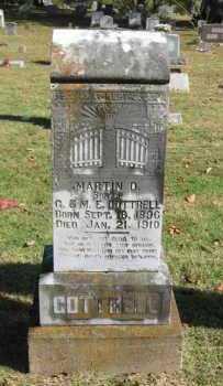 COTTRELL, MARTIN D - Van Buren County, Arkansas | MARTIN D COTTRELL - Arkansas Gravestone Photos