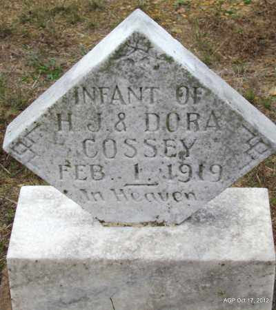 COSSEY, INFANT - Van Buren County, Arkansas | INFANT COSSEY - Arkansas Gravestone Photos