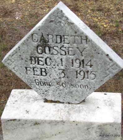COSSEY, CARDETH - Van Buren County, Arkansas | CARDETH COSSEY - Arkansas Gravestone Photos