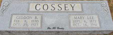 COSSEY, MARY LEE - Van Buren County, Arkansas | MARY LEE COSSEY - Arkansas Gravestone Photos