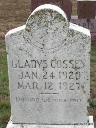 COSSEY, GLADYS - Van Buren County, Arkansas | GLADYS COSSEY - Arkansas Gravestone Photos