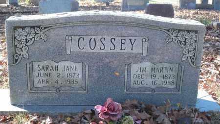 COSSEY, SARAH JANE WALKER - Van Buren County, Arkansas   SARAH JANE WALKER COSSEY - Arkansas Gravestone Photos