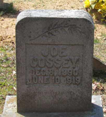 COSSEY, JOE - Van Buren County, Arkansas   JOE COSSEY - Arkansas Gravestone Photos