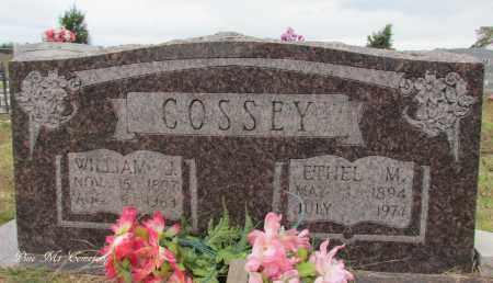 COSSEY, WILLIAM J - Van Buren County, Arkansas | WILLIAM J COSSEY - Arkansas Gravestone Photos
