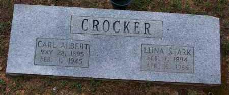 CROCKER, LUNA - Van Buren County, Arkansas | LUNA CROCKER - Arkansas Gravestone Photos