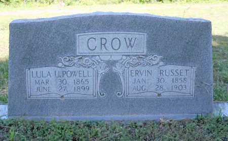 CROW, ERVIN RUSSET - Van Buren County, Arkansas | ERVIN RUSSET CROW - Arkansas Gravestone Photos
