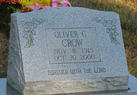 CROW, OLIVER G - Van Buren County, Arkansas | OLIVER G CROW - Arkansas Gravestone Photos