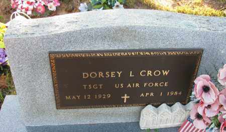 CROW  (VETERAN), DORSEY L - Van Buren County, Arkansas | DORSEY L CROW  (VETERAN) - Arkansas Gravestone Photos