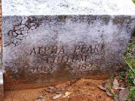 CULLUM, ALPHA PEARL - Van Buren County, Arkansas | ALPHA PEARL CULLUM - Arkansas Gravestone Photos