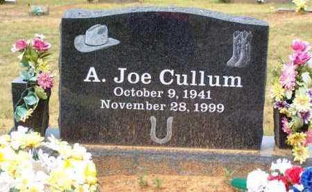 CULLUM, A  JOE - Van Buren County, Arkansas | A  JOE CULLUM - Arkansas Gravestone Photos
