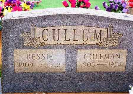 CULLUM, COLEMAN - Van Buren County, Arkansas | COLEMAN CULLUM - Arkansas Gravestone Photos