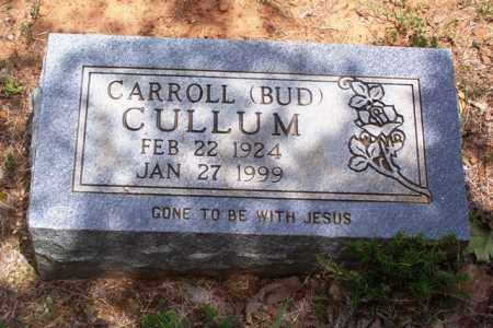 "CULLUM, CARROLL ""BUD"" - Van Buren County, Arkansas | CARROLL ""BUD"" CULLUM - Arkansas Gravestone Photos"