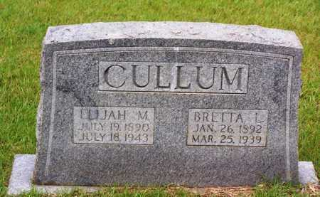 CULLUM, ELIJAH M - Van Buren County, Arkansas   ELIJAH M CULLUM - Arkansas Gravestone Photos