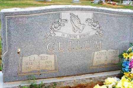 CULLUM, ADDIE - Van Buren County, Arkansas | ADDIE CULLUM - Arkansas Gravestone Photos