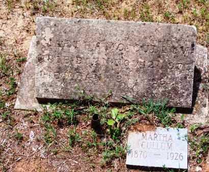 CULLUM, MARTHA - Van Buren County, Arkansas | MARTHA CULLUM - Arkansas Gravestone Photos