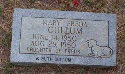 CULLUM, MARY FREDA - Van Buren County, Arkansas | MARY FREDA CULLUM - Arkansas Gravestone Photos